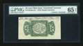 Fractional Currency:Third Issue, Fr. 1294SP 25c Third Issue Wide Margin Back with Morgan Courtesy Autograph PMG Gem Uncirculated 65 EPQ....