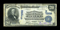 National Bank Notes:Virginia, Onley, VA - $20 1902 Date Back Fr. 642 The Farmers & MerchantsNB Ch. # (S)7258. ...