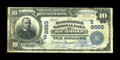 National Bank Notes:Virginia, Richmond, VA - $10 1902 Plain Back Fr. 628 The Manchester NB Ch. #. 9S)9663. ...