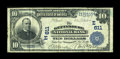 National Bank Notes:Pennsylvania, Gettysburg, PA - $10 1902 Date Back Fr. 616 The Gettysburg NB Ch. #(E)611. ...