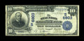 National Bank Notes:Virginia, Staunton, VA - $10 1902 Date Back Fr. 616 The Staunton NB Ch. #(S)6903. ...