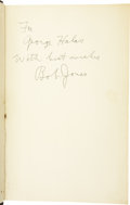 Golf Collectibles:Autographs, 1960 Bobby Jones Signed Book to George Halas. One of the greatsportsmen of the twentieth century, Jones once dismissed plau...