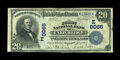 National Bank Notes:Maryland, Union Bridge, MD - $20 1902 Date Back Fr. 644 The First NB Ch. #(E)9066. ...