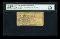 Colonial Notes:New Jersey, New Jersey November 20, 1757 £6 PMG Choice Fine 15....