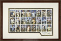 Autographs:Others, J. D. McCarthy Signed Uncut Card Sheet. For many years beginning inthe 1960s, the photographer J. D. McCarthy snapped pict...