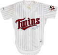 "Autographs:Jerseys, Harmon Killebrew ""M.V.P. '69"" Signed Jersey. The fierce Hall ofFame slugger referred to by fans of his Twins simply as ""Ki..."