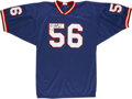 Football Collectibles:Others, Lawrence Taylor Signed Jersey. One of the most imposing threats to ever line up across from an NFL quarterback was Lawrence...