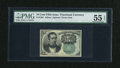 Fractional Currency:Fifth Issue, Fr. 1264 10c Fifth Issue PMG About Uncirculated 55 EPQ....