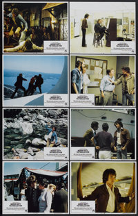 """The Parallax View (Paramount, 1974). Lobby Card Set of 8 (11"""" X 14""""). Thriller.... (Total: 8 Items)"""