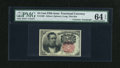 Fractional Currency:Fifth Issue, Fr. 1265 10c Fifth Issue with Wyman Courtesy Autograph PMG Choice Uncirculated 64 EPQ....