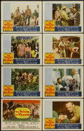 "Movie Posters:Adventure, The Roots of Heaven (20th Century Fox, 1958). Lobby Card Set of 8(11"" X 14""). Adventure.... (Total: 8 Items)"