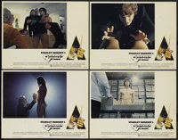"A Clockwork Orange (Warner Brothers, 1972). Lobby Cards (4) (11"" X 14""). Science Fiction.... (Total: 4 Items)"
