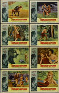 "Movie Posters:Science Fiction, Teenage Caveman (American International, 1958). Lobby Card Set of 8(11"" X 14""). Science Fiction.... (Total: 8 Items)"
