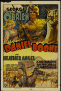 "Movie Posters:Adventure, Daniel Boone (RKO, 1936). One Sheet (27"" X 41""). Adventure...."