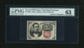 Fractional Currency:Fifth Issue, Fr. 1266 10c Fifth Issue with Wyman Courtesy Autograph PMG ChoiceUncirculated 63....