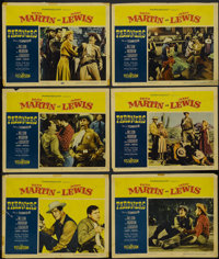 "Pardners (Paramount, 1956). Lobby Cards (6) (11"" X 14""). Comedy.... (Total: 6 Items)"