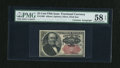 Fractional Currency:Fifth Issue, Fr. 1309 25c Fifth Issue with Morgan Courtesy Autograph PMG ChoiceAbout Unc 58 EPQ....