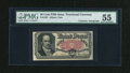 Fractional Currency:Fifth Issue, Fr. 1381 50c Fifth Issue with Gilfillan Courtesy Autograph PMGAbout Uncirculated 55....