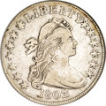 Early Half Dollars, 1802 50C --Cleaned--ANACS. XF40 Details....
