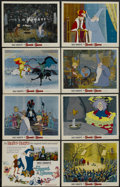 "Movie Posters:Animated, The Sword in the Stone (Buena Vista, 1963). Title Lobby Card andLobby Cards (7) (11"" X 14""). Animated.... (Total: 8 Items)"