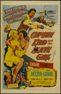 "Movie Posters:Adventure, Captain Kidd and the Slave Girl (United Artists, 1954). One Sheet(27"" X 41""). Adventure...."
