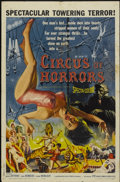 """Movie Posters:Horror, Circus of Horrors (American International, 1960). One Sheet (27"""" X 41""""). Horror...."""
