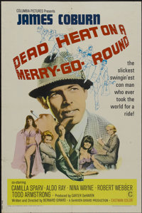 "Dead Heat on a Merry-Go-Round (Columbia, 1966). One Sheet (27"" X 41""). Crime"