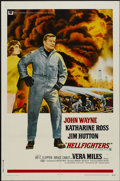 """Movie Posters:Action, Hellfighters (Universal, 1969). One Sheet (27"""" X 41""""). Action...."""