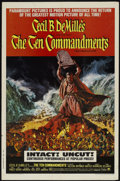 "Movie Posters:Historical Drama, The Ten Commandments (Paramount, R-1966). One Sheet (27"" X 41"").Historical Drama...."