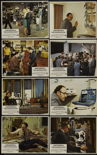 """The Conversation (Paramount, 1974). Lobby Card Set of 8 (11"""" X 14""""). Thriller.... (Total: 8 Items)"""