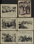 """Movie Posters:War, Pershing's Crusaders Lot (First National, 1918). Lobby Cards (6)(11"""" X 14""""). War.... (Total: 6 Items)"""