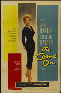 "The Come On (Allied Artists, 1956). One Sheet (27"" X 41""). Film Noir"