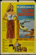 """Movie Posters:Adventure, The Golden Mistress (United Artists, 1954). One Sheet (27"""" X 41"""").Adventure...."""