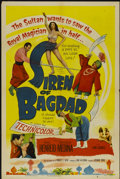 "Movie Posters:Adventure, Siren of Bagdad (Columbia, 1953). One Sheet (27"" X 41"").Adventure...."