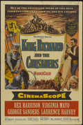 "Movie Posters:Adventure, King Richard and the Crusaders (Warner Brothers, 1954). One Sheet(27"" X 41""). Adventure...."