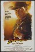 "Movie Posters:Action, Indiana Jones and the Last Crusade (Paramount, 1989). One Sheet(27"" X 40"") Advance. Action...."
