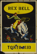 "Movie Posters:Western, Rodeo Stock Poster (Unknown, 1920s). One Sheet (28"" X 41""). Western...."