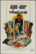 "Movie Posters:James Bond, Live and Let Die (United Artists, 1973). One Sheet (27"" X 41""). James Bond...."