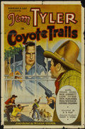 "Movie Posters:Western, Coyote Trails (Reliable, 1935). One Sheet (27"" X 41""). Western...."