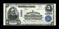 National Bank Notes:Pennsylvania, Picture Rocks, PA - $5 1902 Plain Back Fr. 607 The Picture Rocks NBCh. # 11643. ...