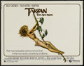 "Movie Posters:Adventure, Tarzan the Ape Man (MGM, 1981). Half Sheet (22"" X 28"").Adventure...."