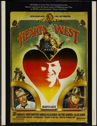 """Hearts of the West (United Artists, 1975). Poster (30"""" X 40""""). Western"""
