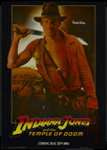 "Movie Posters:Adventure, Indiana Jones and the Temple of Doom (Paramount, 1984). Mini-Poster(17"" X 24"") Advance. Adventure...."