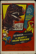 "Movie Posters:Science Fiction, The Beast of Hollow Mountain (United Artists, 1956). One Sheet (27""X 41""). Science Fiction...."