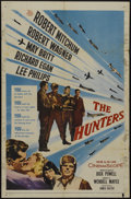 "Movie Posters:War, The Hunters (20th Century Fox, 1958). One Sheet (27"" X 41"").War...."