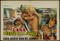 "Movie Posters:Adventure, Lana: Queen of the Amazons Lot (Transocean International, 1964).Belgian (14.5"" X 21.5""). Adventure.... (Total: 2 Items)"