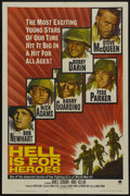 """Movie Posters:War, Hell Is for Heroes (Paramount, 1962). One Sheet (27"""" X 41"""").War...."""
