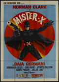 "Movie Posters:Action, Mister X (Terra/Copercines, 1967). Italian 4 - Folio (55"" X 78"").Action...."