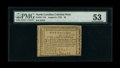 Colonial Notes:North Carolina, North Carolina August 8, 1778 $5 PMG About Uncirculated 53....