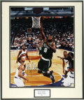 """Autographs:Photos, Antoine Walker Signed Oversized Photograph. Impressive oversized(16x20"""") print features Antoine Walker while with the Celt..."""
